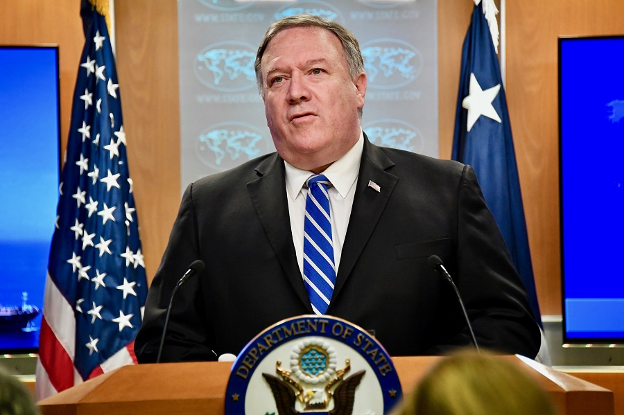 Mike Pompeo blames Iran for 'blatant assault' on oil tankers in Gulf of Oman