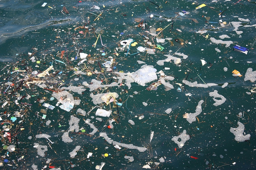 Litter floating in the ocean isn't the problem, it's what's below
