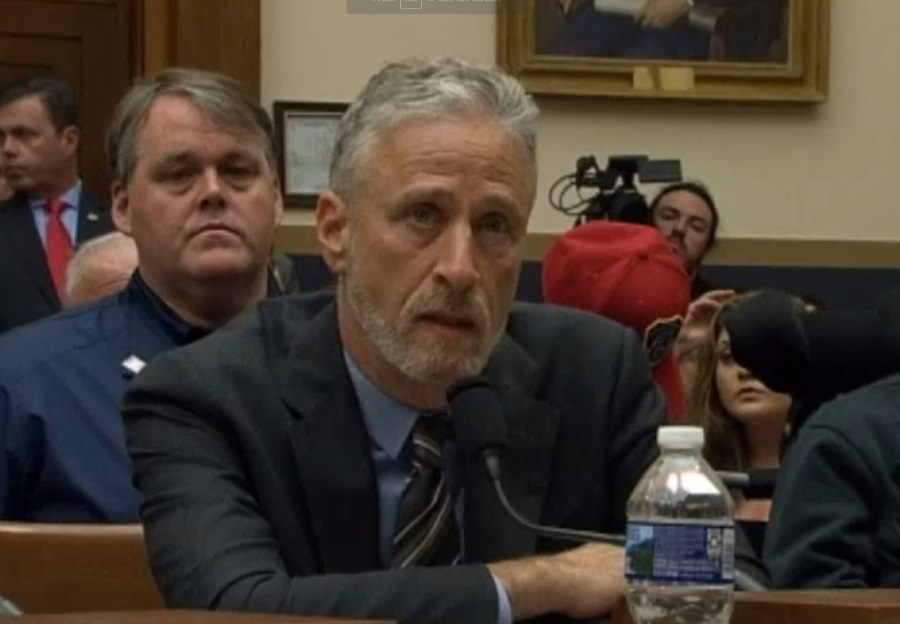 Jon Stewart slams politicians who failed to attend 9/11 survivors hearing