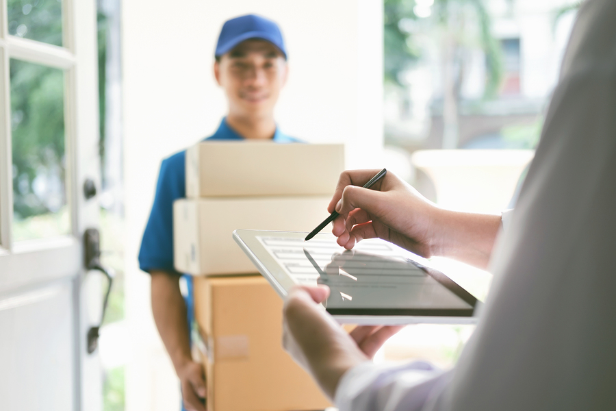 best app for delivery courier