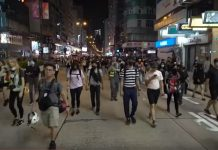 """Inside the """"blossom everywhere"""" strategy of Hong Kong protestors"""