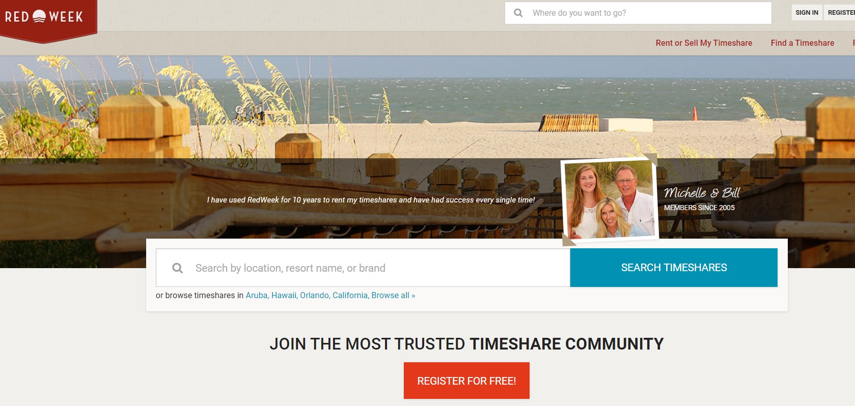 timeshare rental and resale marketplace