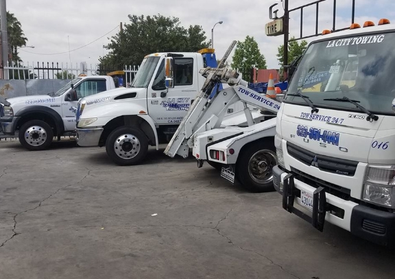 LA CITY Towing