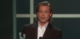 SAG Awards: Brad Pitt calls out Quentin Tarantino's foot fetish