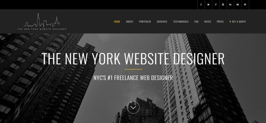 The New York Website Designer
