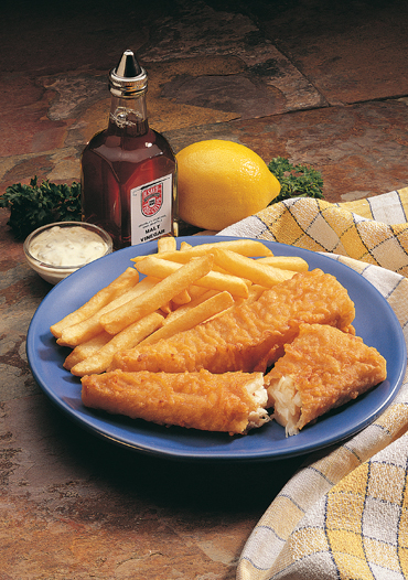 H. Salt Fish & Chips