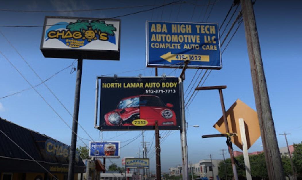 North Lamar Auto Body Shop