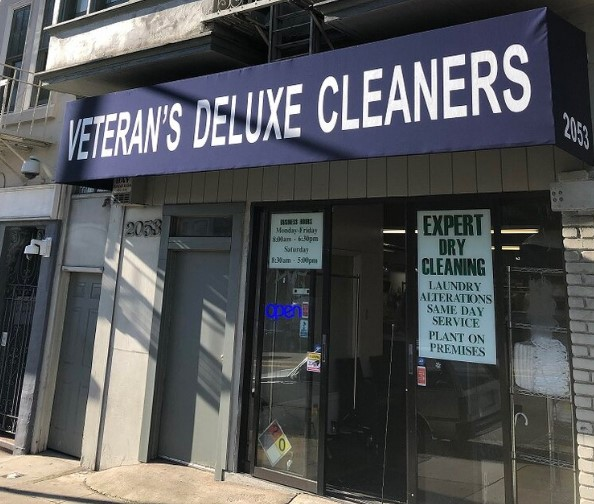 Veterans Deluxe Cleaners