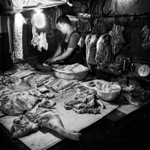 Butcher Tamsui, Taiwan by Shamus Johnson