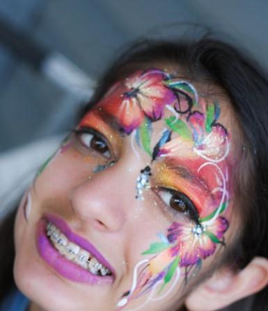 Creative Cala Corner Facepainting and Henna Columbus Ohio