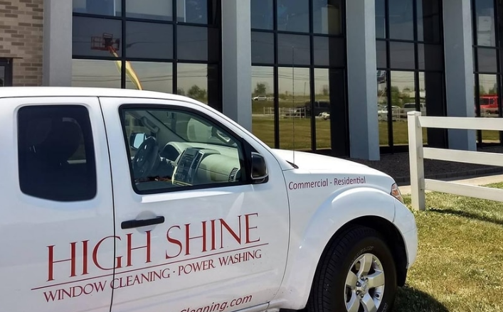 High Shine Window Cleaning