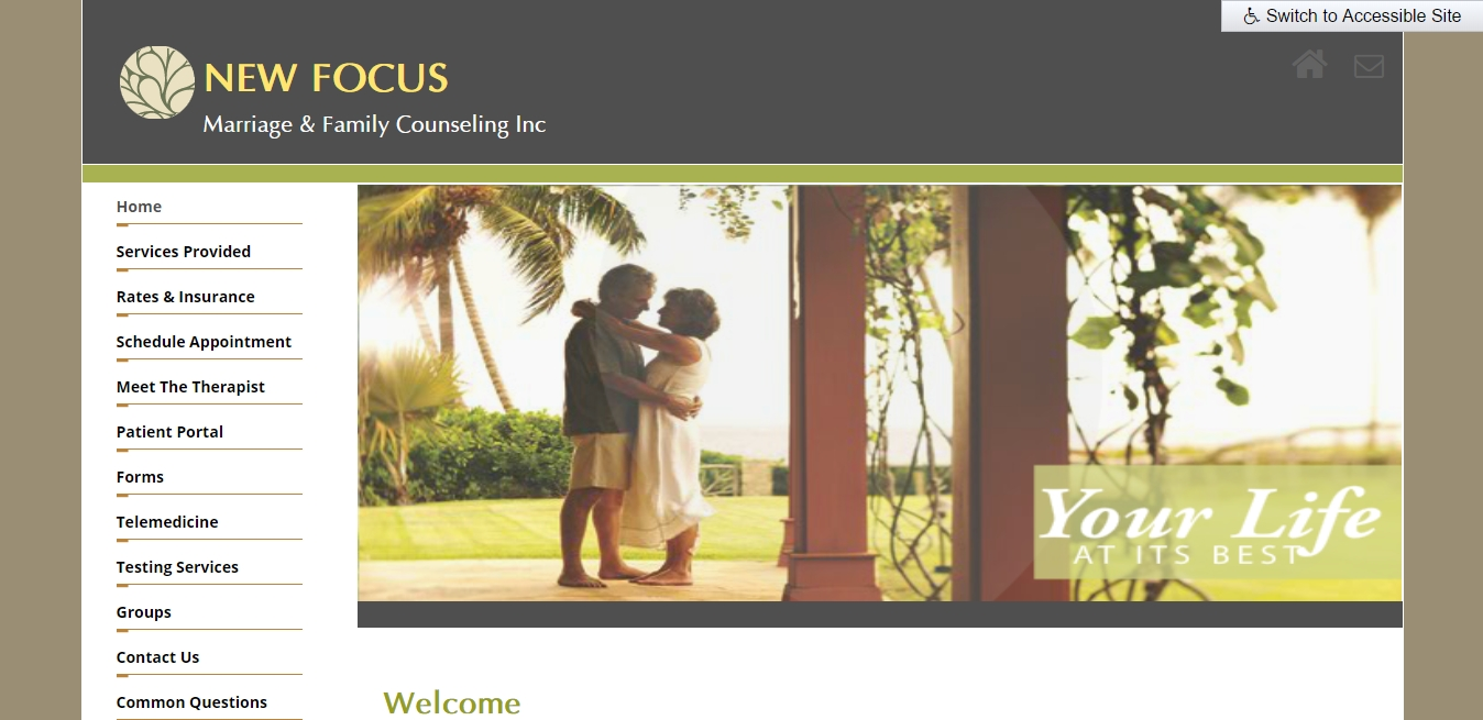 New Focus Marriage & Family Counseling Inc