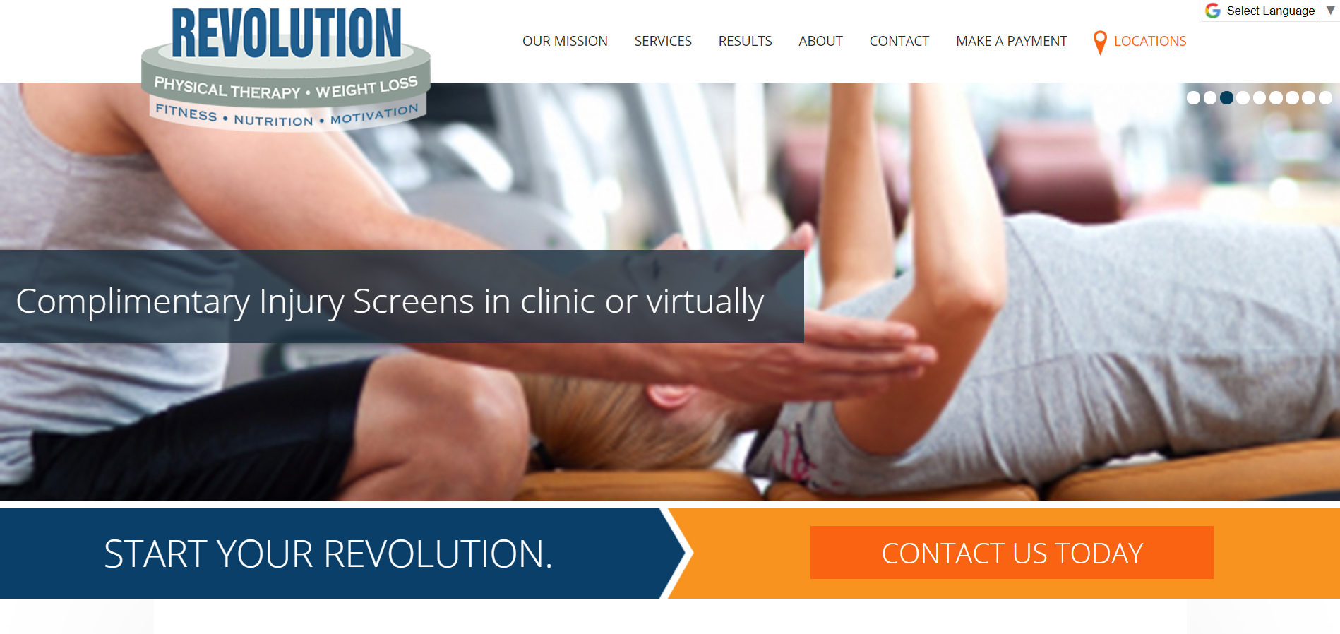 Revolution Physical Therapy and Weight Loss