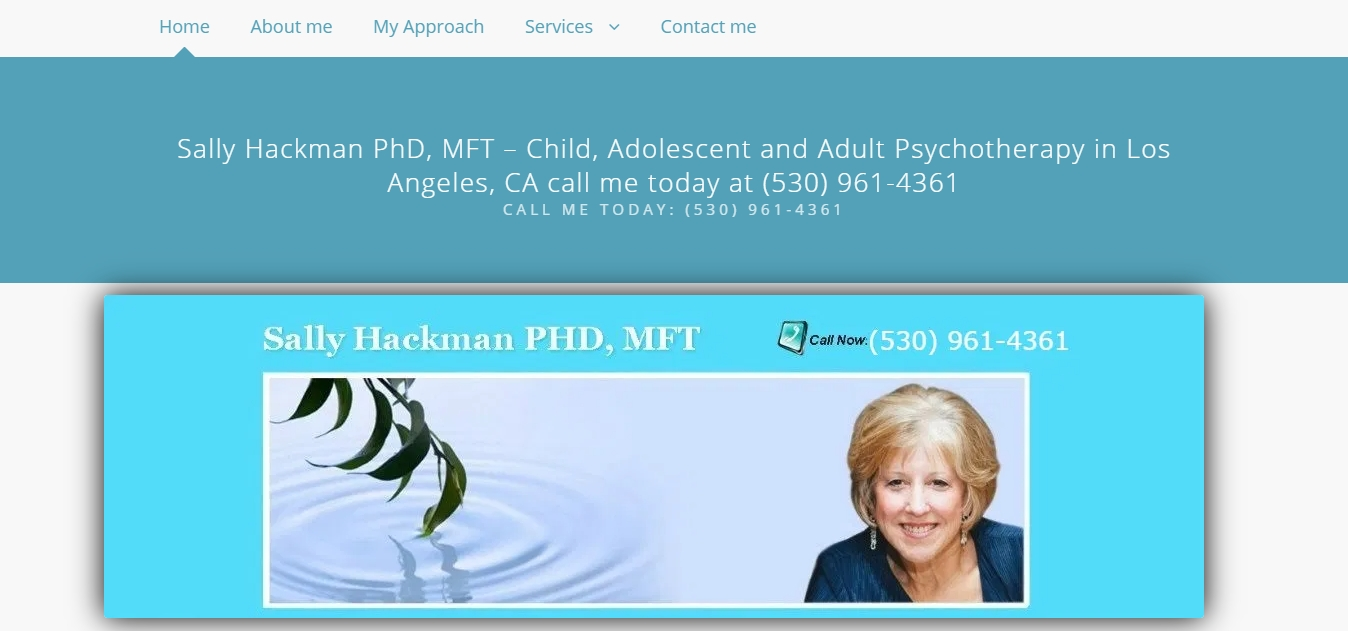 Sally Hackman PhD MFT