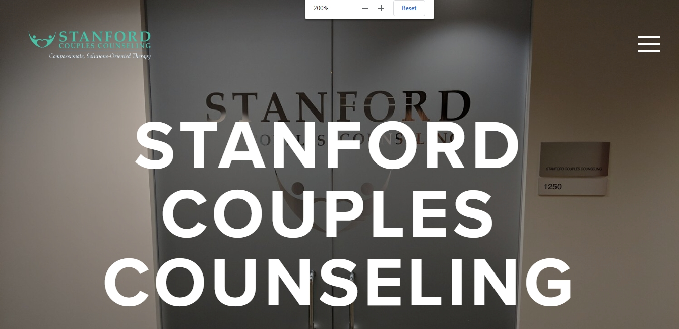 Stanford Couples Counseling