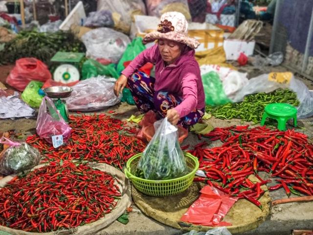 Street Market Vietnam by Shamus Johnson