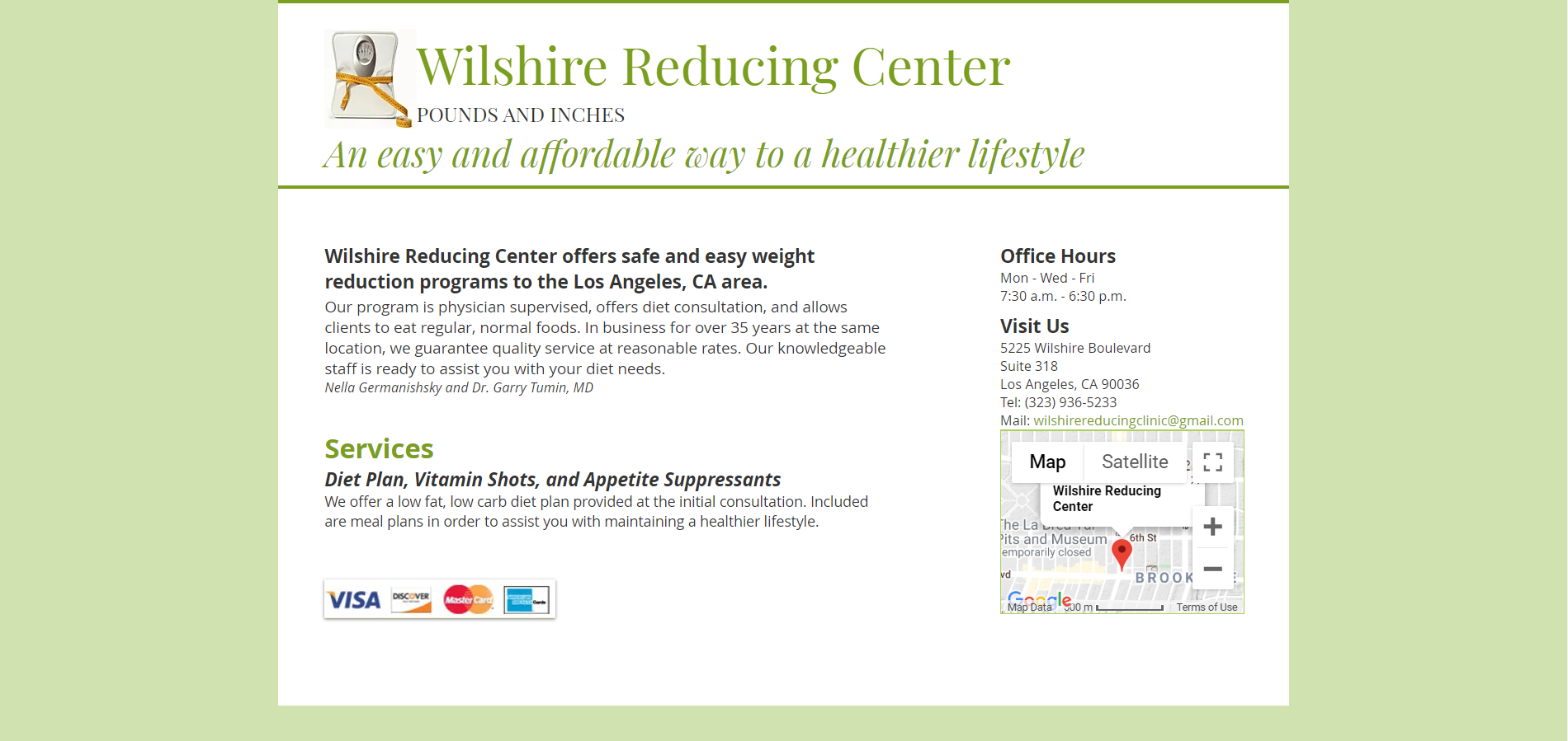 Wilshire Reducing Clinic