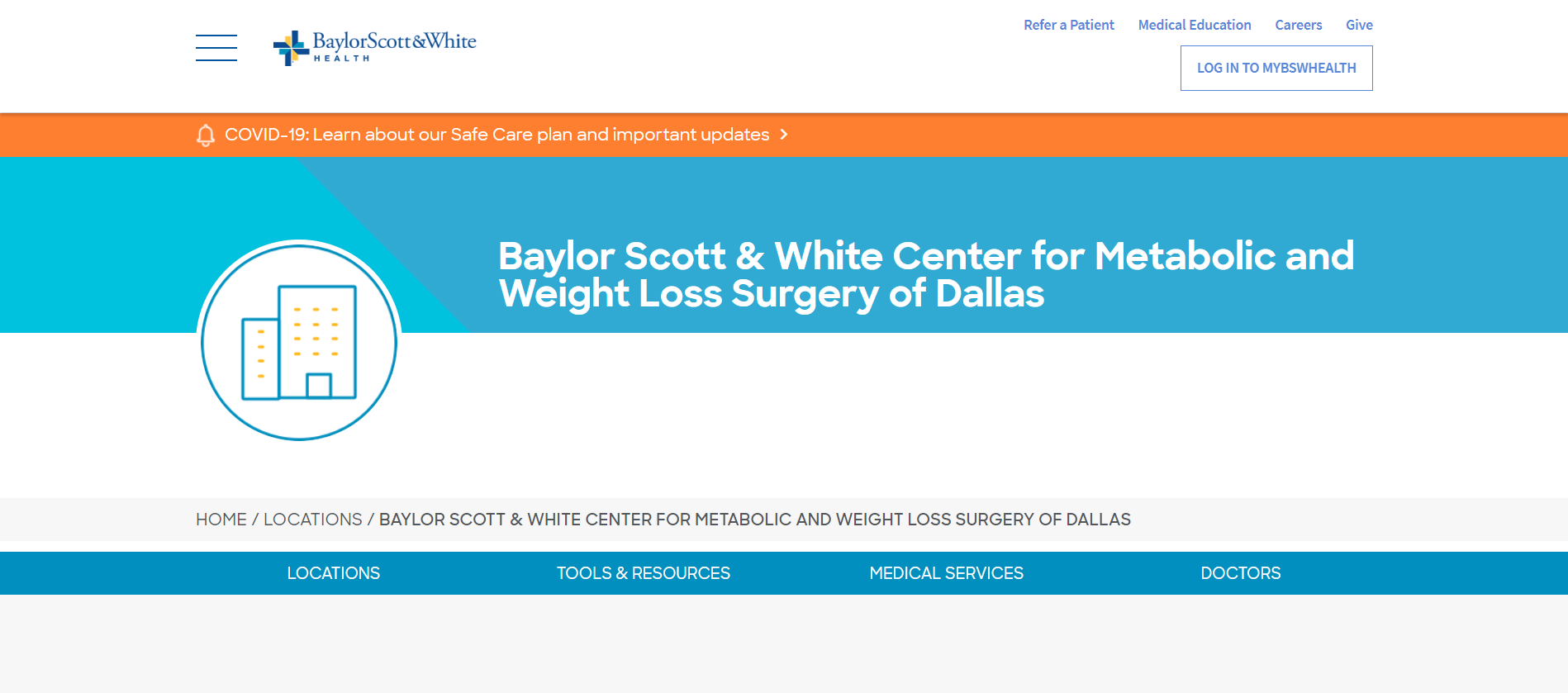 Baylor Scott & White Center for Metabolic and Weight Loss Surgery of Dallas