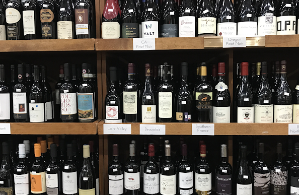 Assorted Table Wine Shoppe