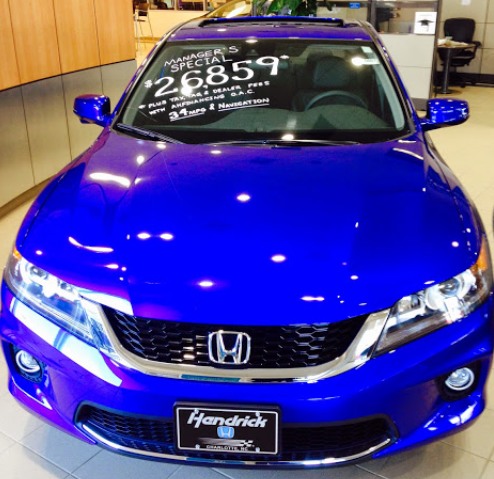 Hendrick Honda