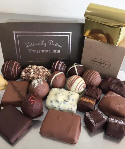 Litterally Divine Chocolates