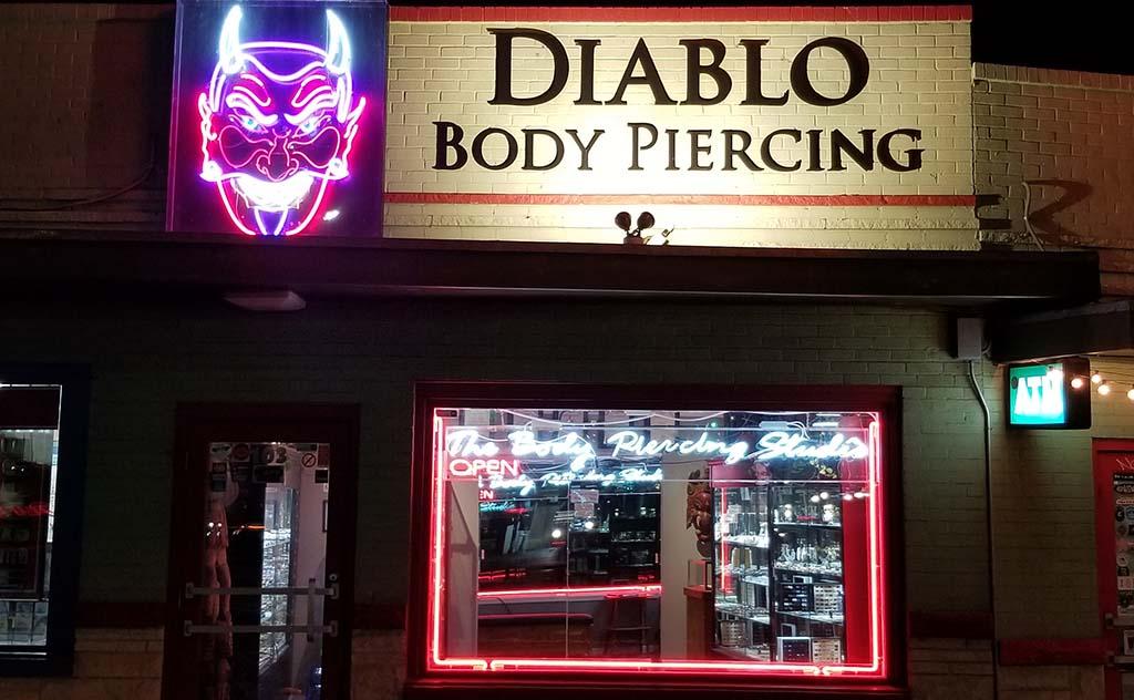 Diablo Rojo The Body Piercing Studio