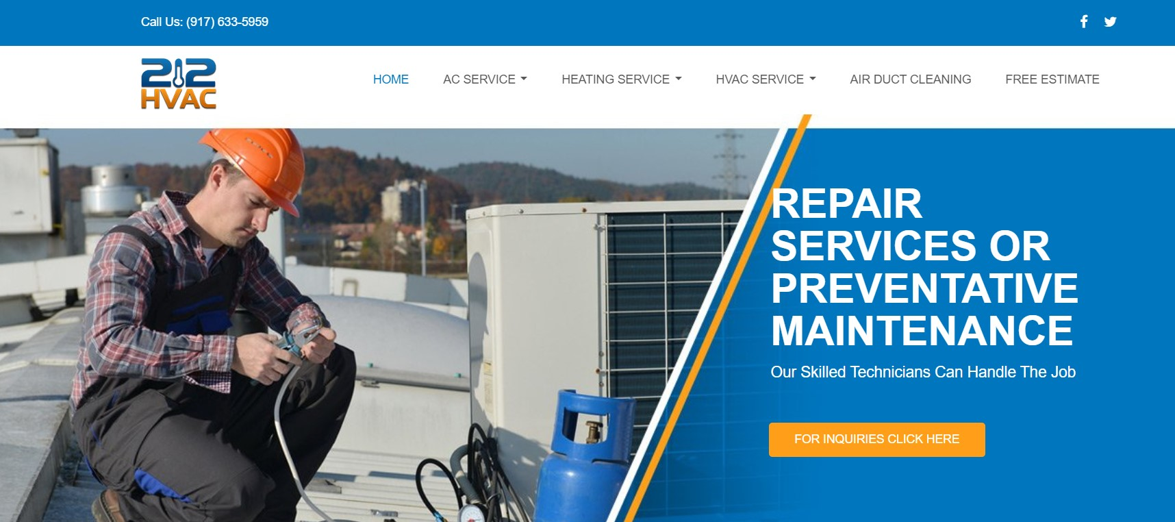212 hvac services in new york