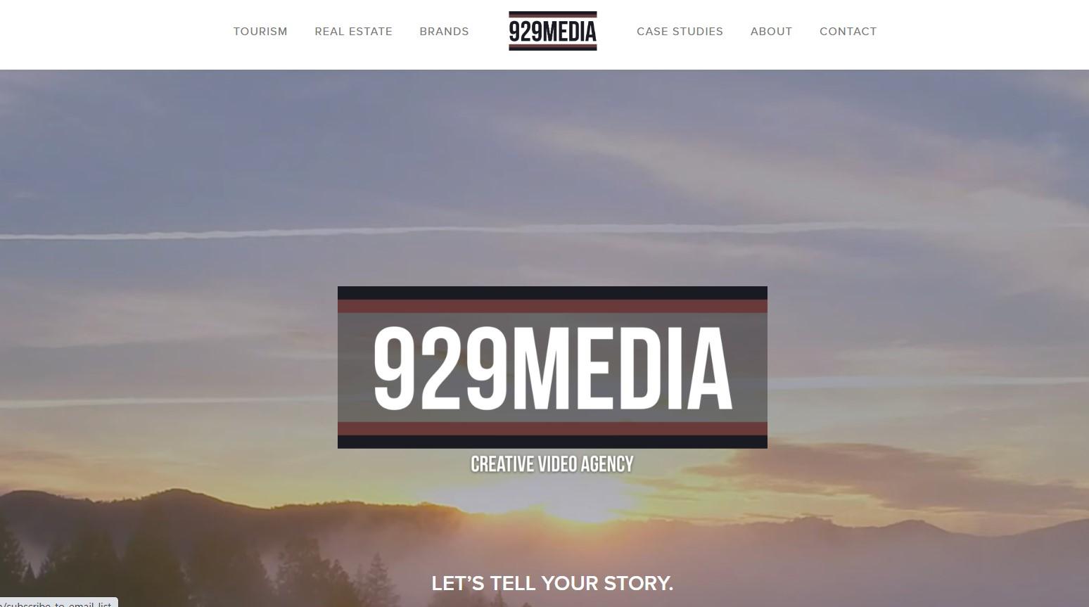 929 media videographer in new york