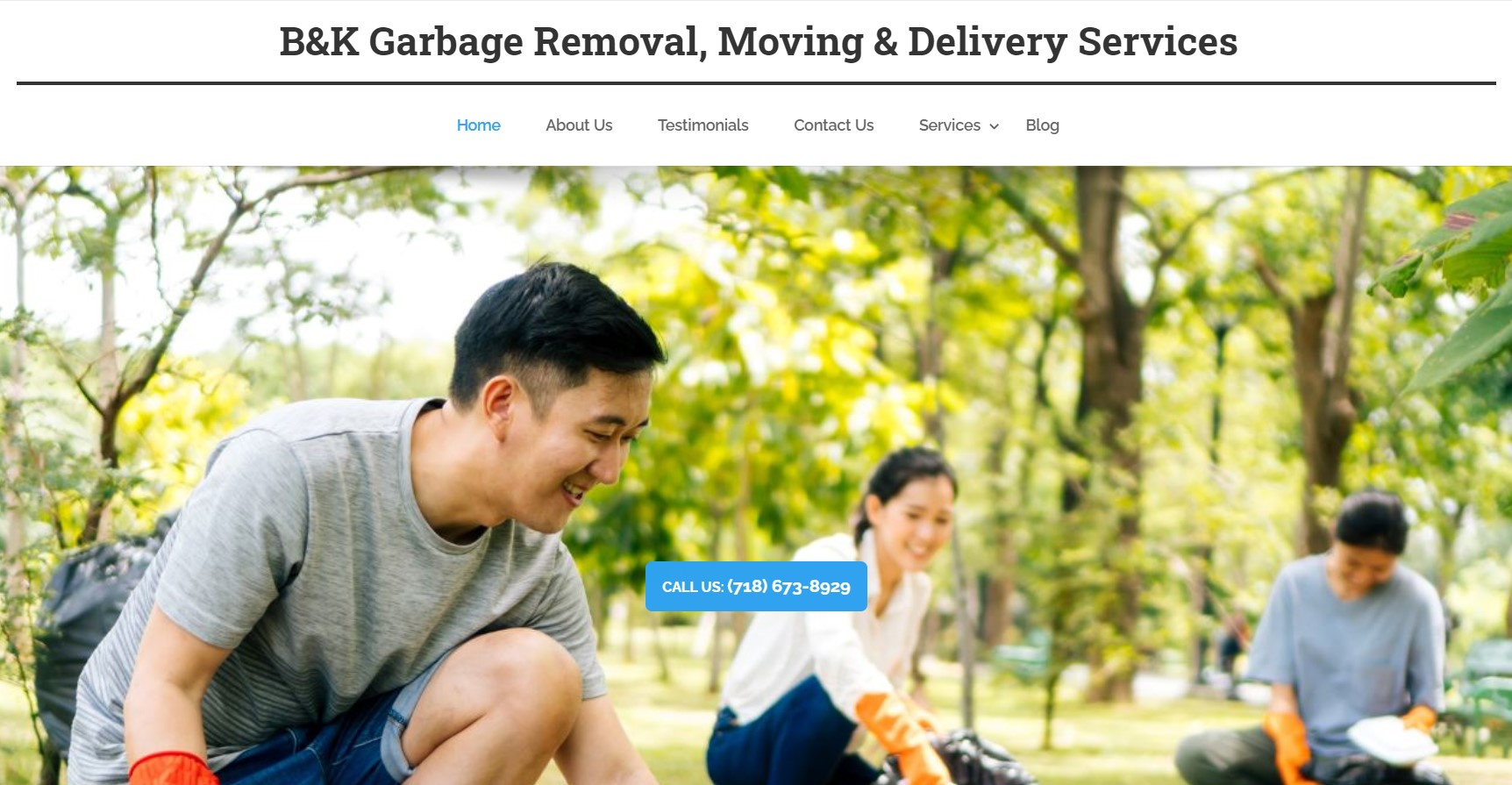b&k rubbish removal in new york