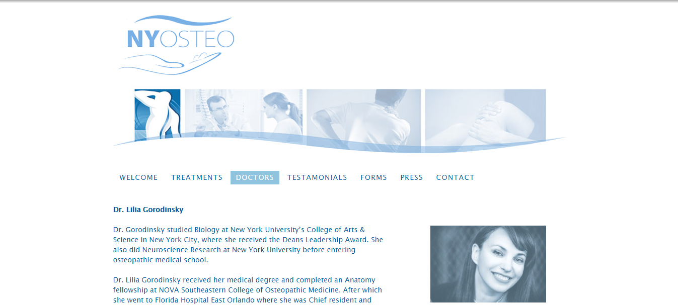 osteopath doctor in new york