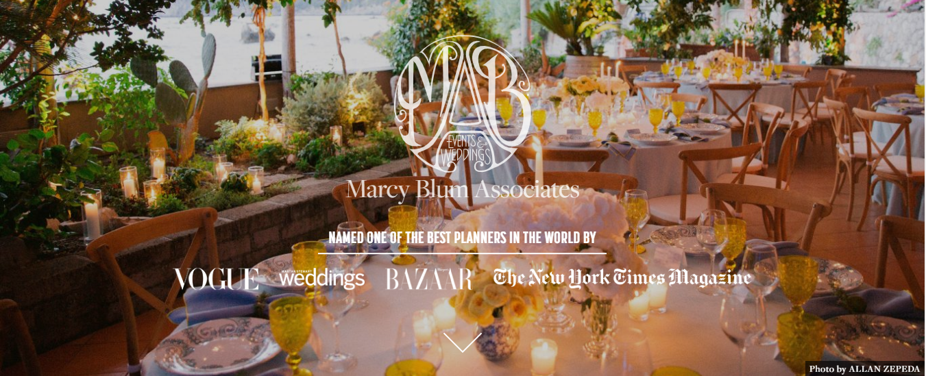 marcy blum event planner in new york