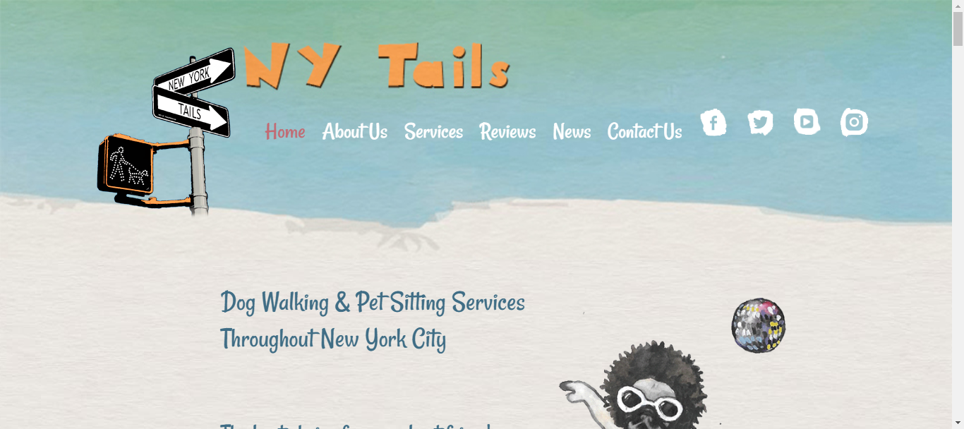 ny tails dog walkers in nyc