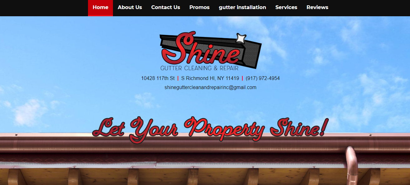 shine gutter maintenance in new york