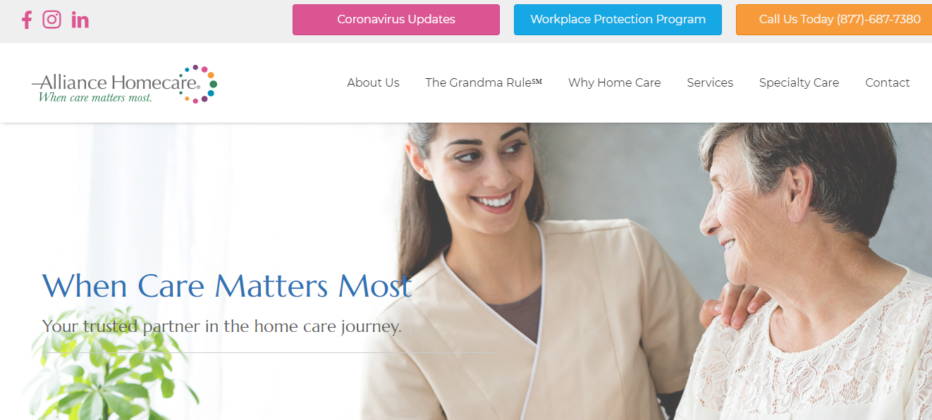 alliance disability home care in new york
