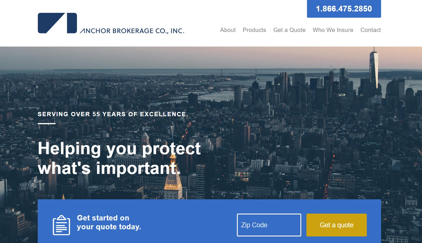 anchor insurance broker in new york