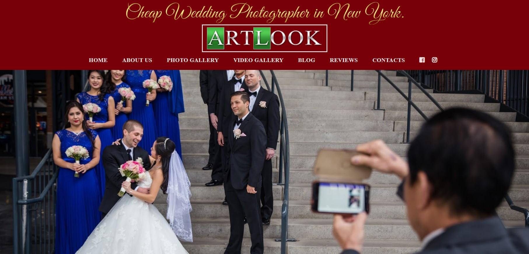 artlook wedding photographer in new york