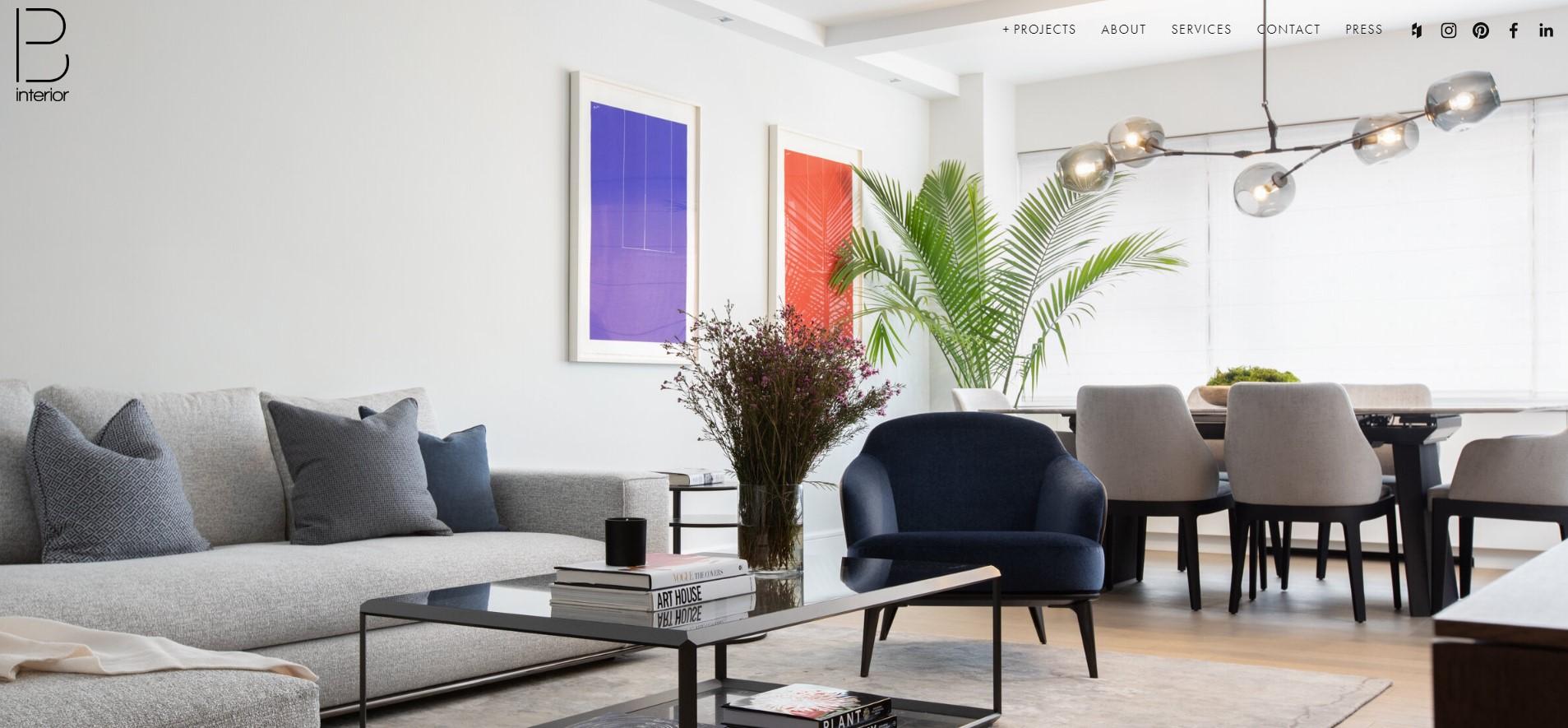 b interior designer in new york