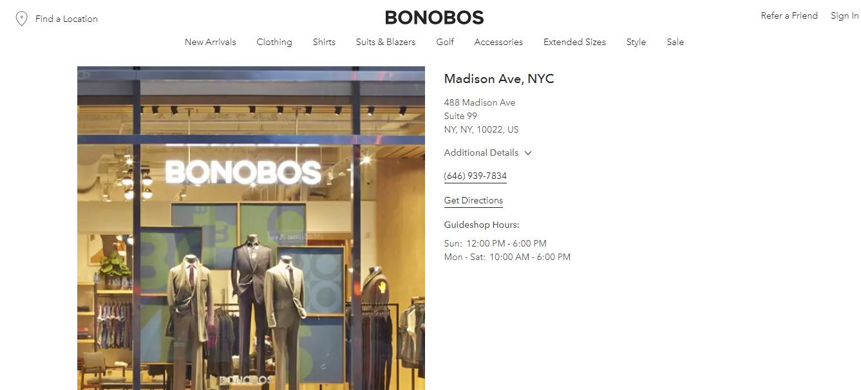 bonobos clothing for men new york