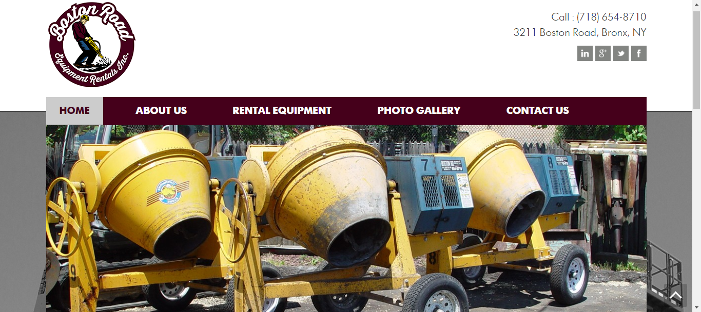 heavy machinery rental services new york
