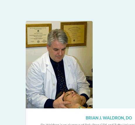 brian waldo osteopath in new york