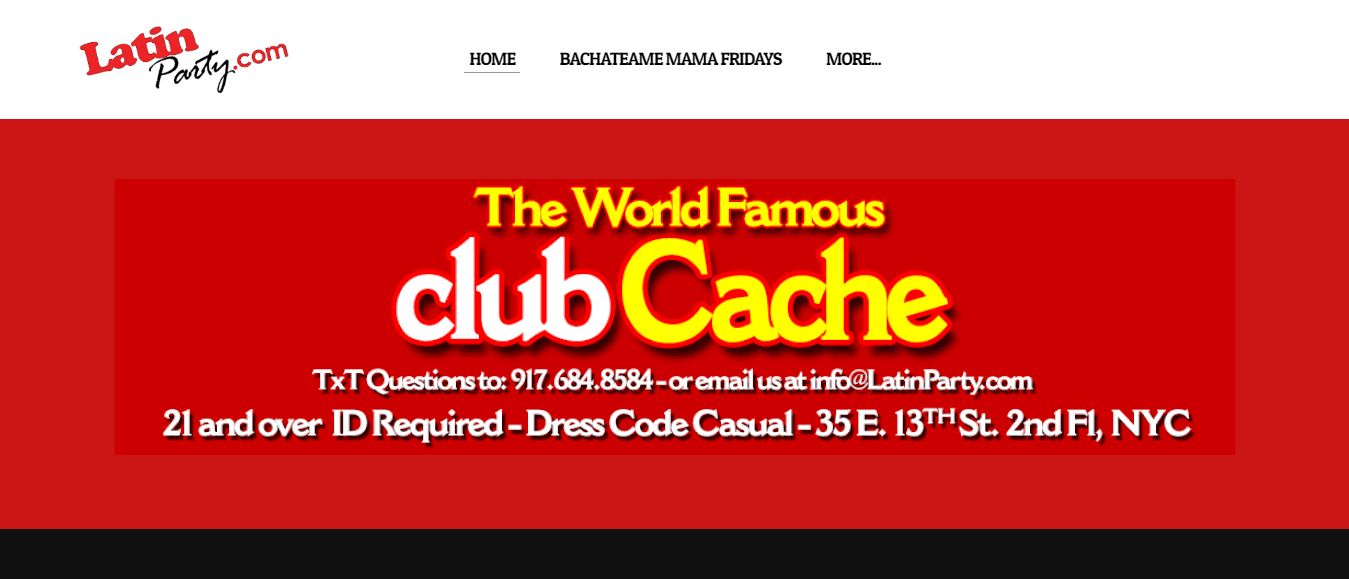 club cache dance club in new york