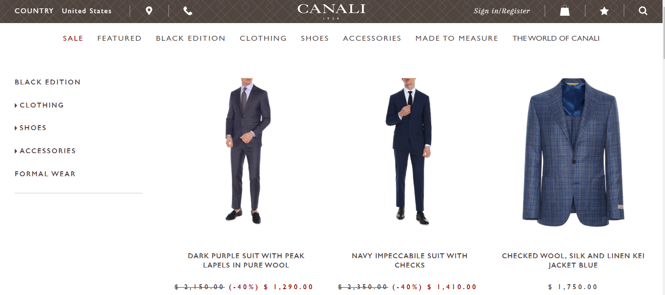 best suits for men new york
