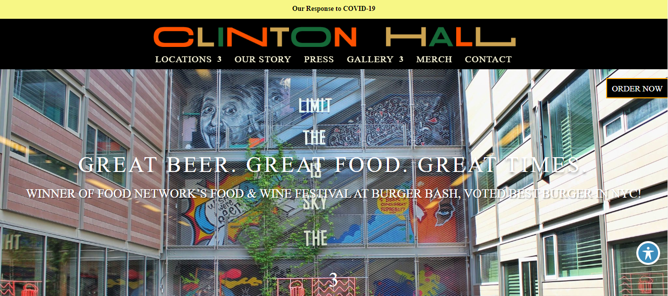 clinton hall beer hall in new york