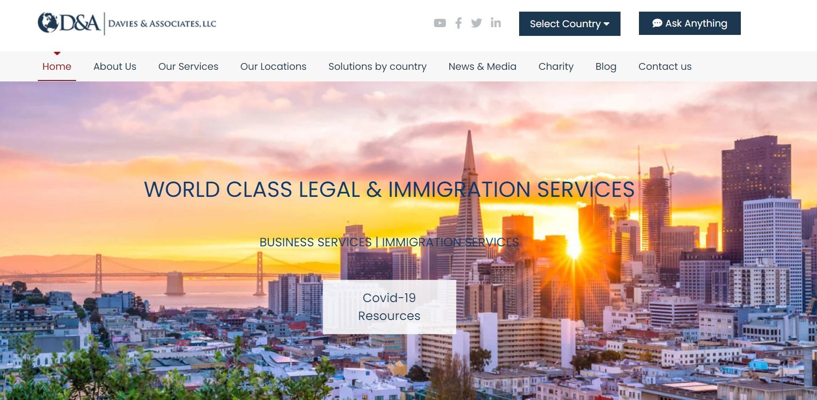 davies & associates migration lawyer in new york