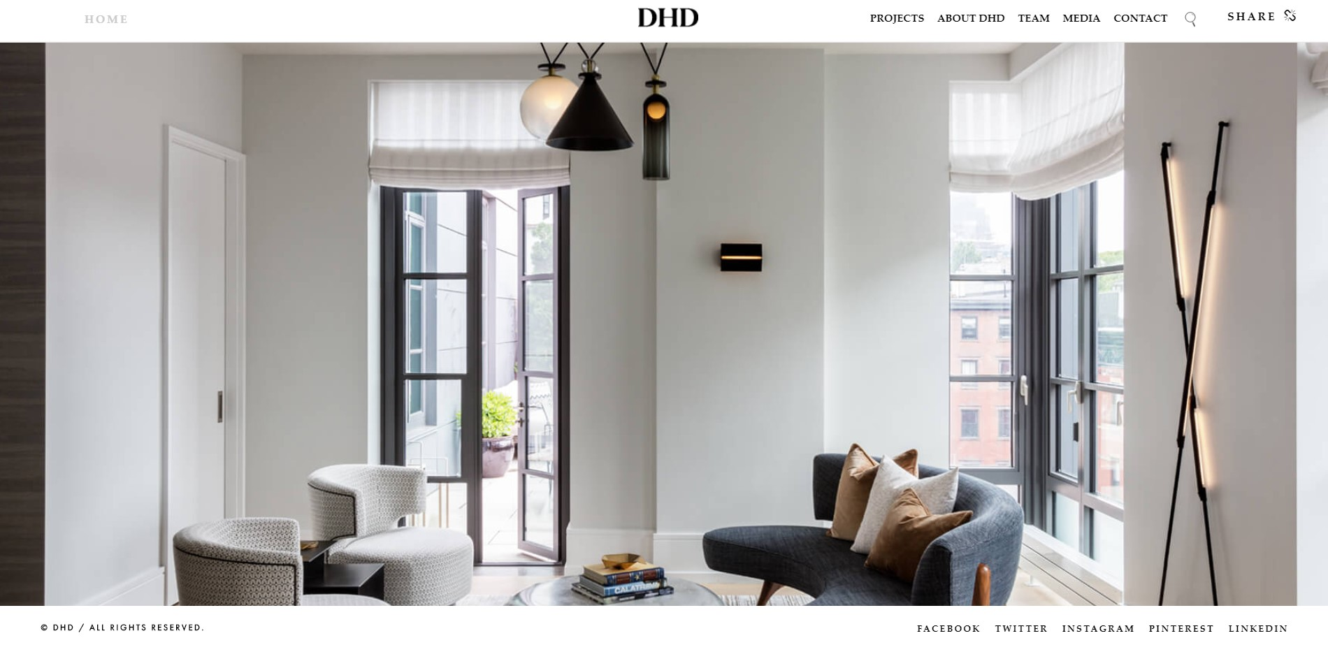 dhd interior designer in new york