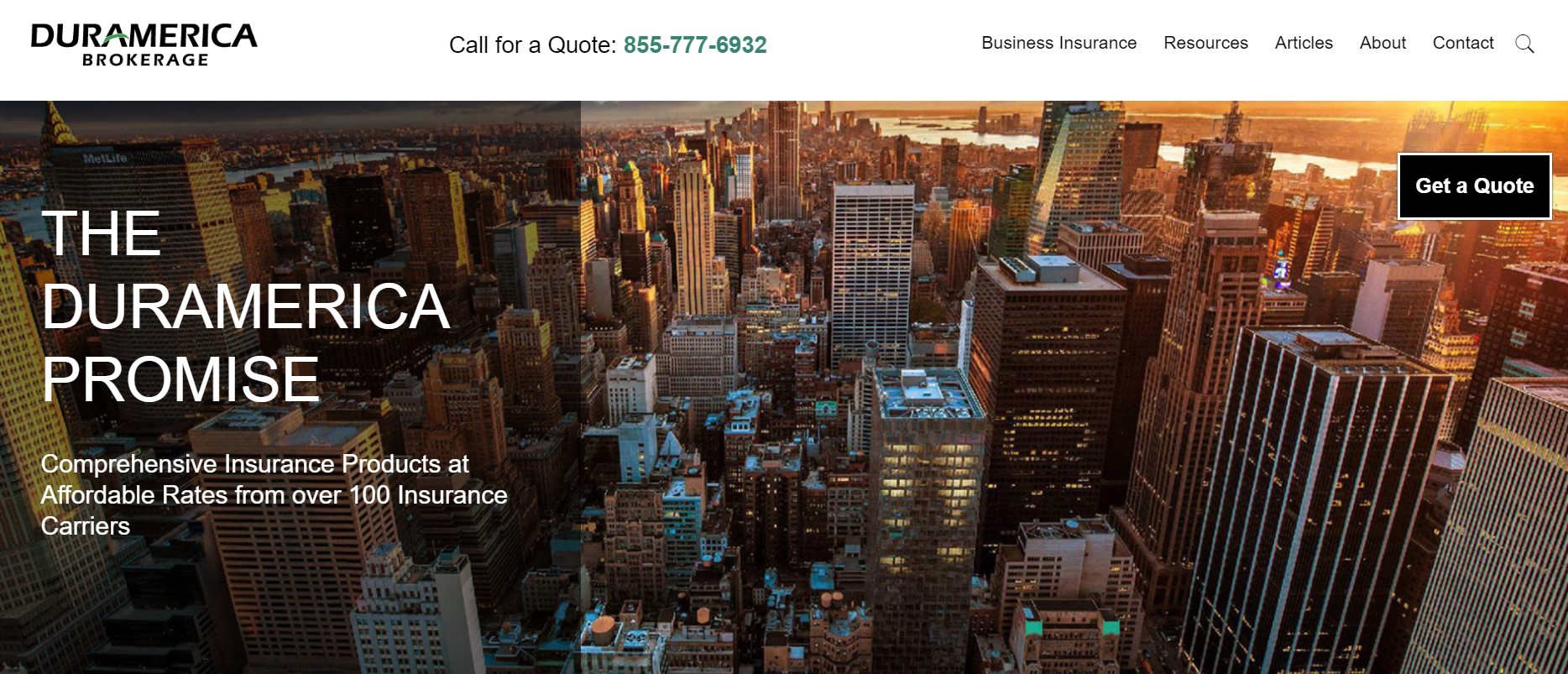duramerica insurance broker in new york