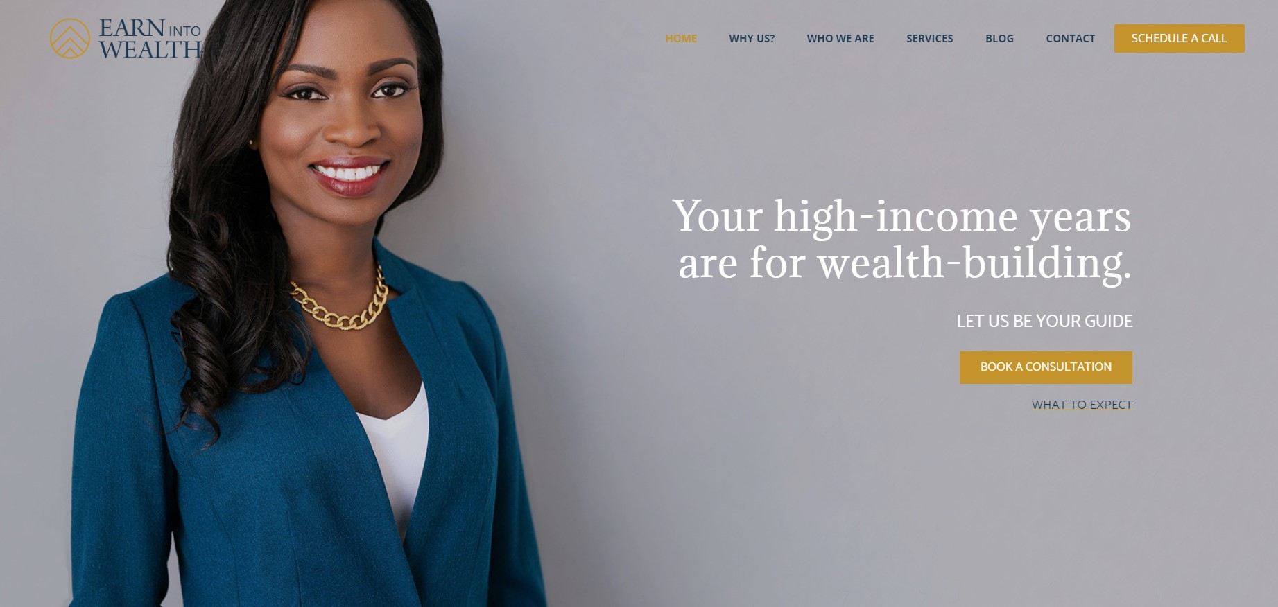 earn into wealth financial service in new york