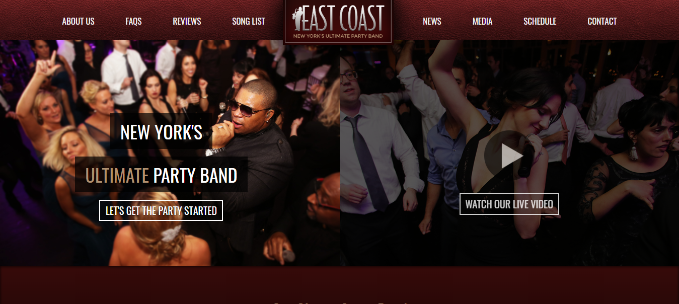 east coast best band agency
