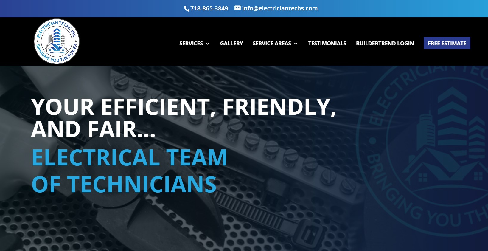 electrician techs in new york