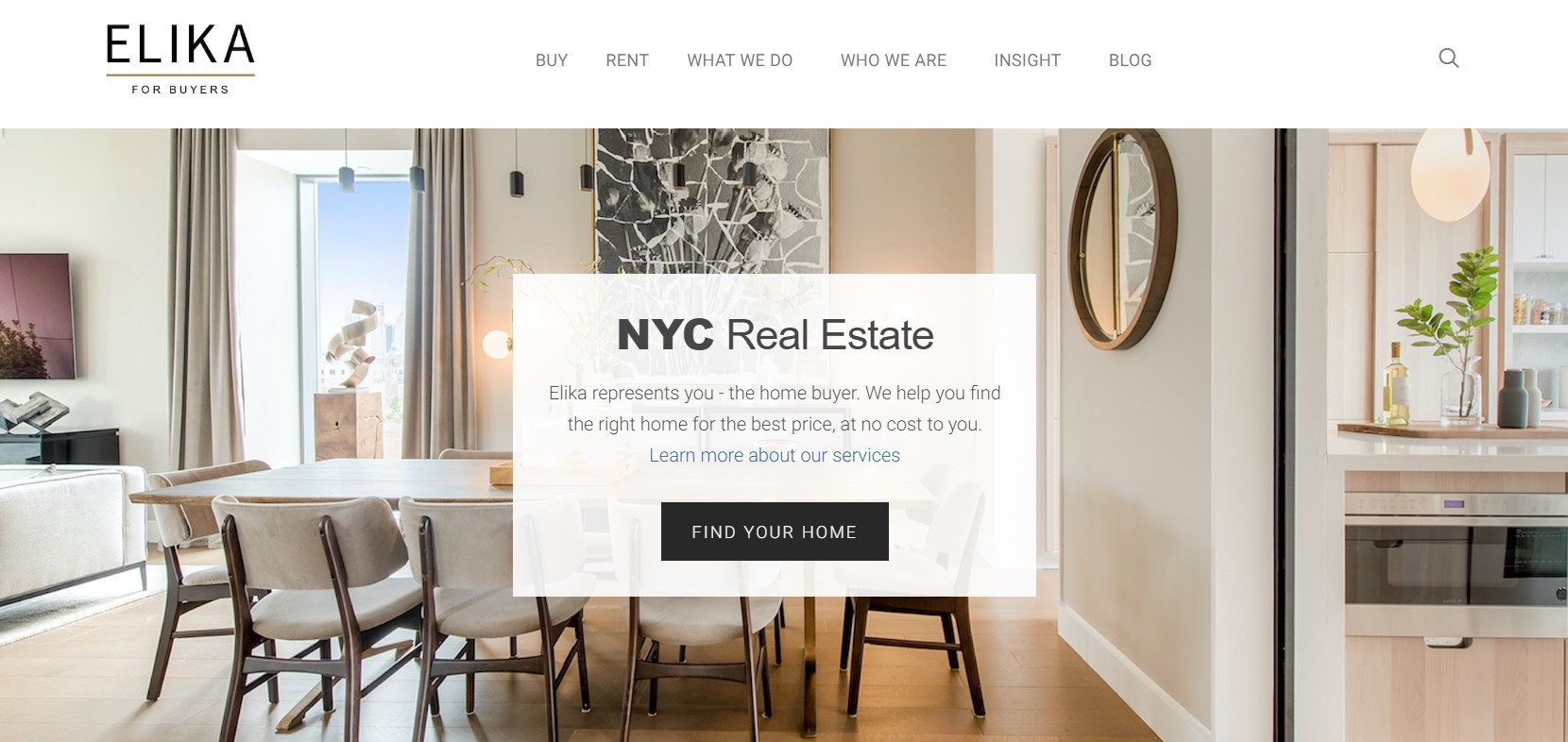 elika real estate agent in new york